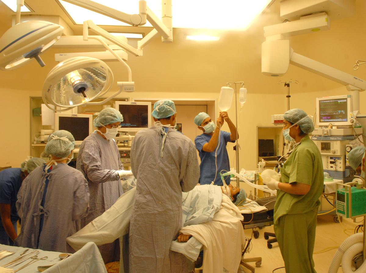 Operating room - Instituto de Salud Artemis
