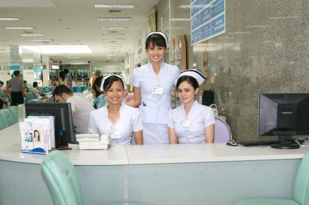 International Counter - Yanhee Hospital - Hospital Yanhee